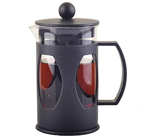 French Press Single Serving Coffee Maker, Small Affordable Coffee Brewer with Highest Filtration (20 oz.)