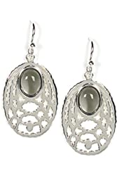 Jody Coyote Earrings Thistle Collection TH-0311-09 silver