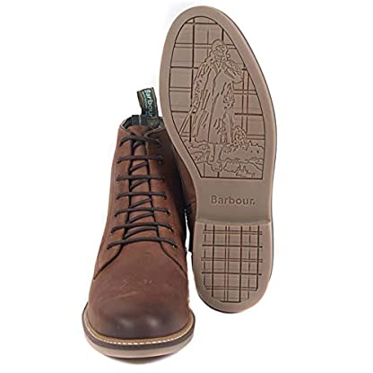 Barbour Mens Seaham Derby Walking Outdoor Hiking Trekking Ankle Boots - Conker 5