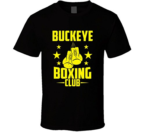 Buckeye Arizona Boxing Club Cool Sports Fitness T Shirt S Black