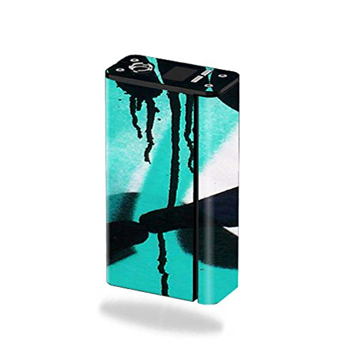 MightySkins Skin for Smok XCube Mini 75W – Graffiti Tagz | Protective,...