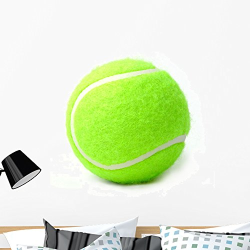 Wallmonkeys WM63094 Tennis Ball Peel and Stick Wall Decals (36 in W x 35 in H), Large