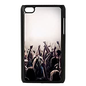 iPod Touch 4 Case Black af01 iam in concert no tomorrow JNR2030920
