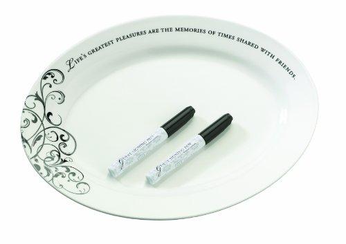 Lillian Rose Wedding Guest Book Alternative Ceramic Sign Plate (Ceramic Wedding)