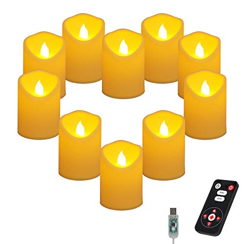 extra bright flameless candles - 1