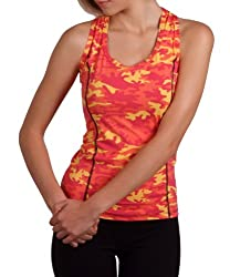 Margarita Orange Camo Top