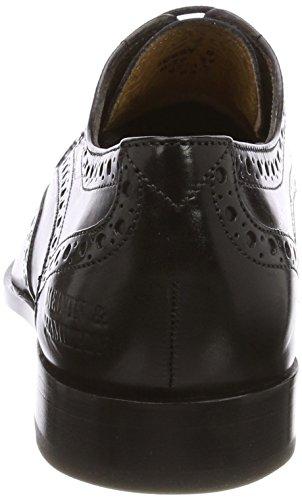 Cordones Negro Zapatos 6 Nat ls black Mujer Derby De Para Jessy amp;hamilton crust Melvin wzTBWHqXAx