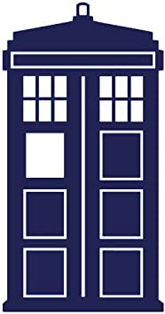 DR WHO Tardis Call box decal Car Window Vinyl Decal Sticker