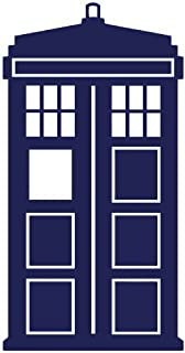 """product image for Keen Doctor Who Tardis Car Window Vinyl Decal Sticker