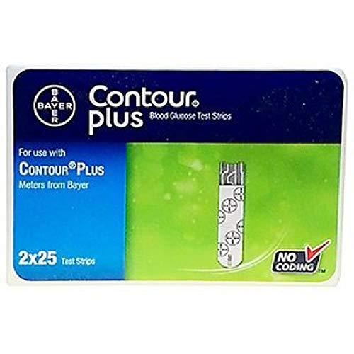 Contour Plus Strips 50 Count (Multicolor)