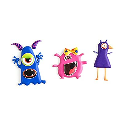 Taggles Cute Monster Stickers, Repositionable, 148 pcs: Toys & Games