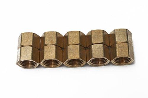 Generic Brass Pipe Cap Fittings 1/2