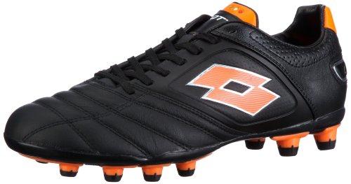 LOTTO STADIO POTENZA FG, Chaussures de sport homme - Noir-TR-I3-83, 41 EU