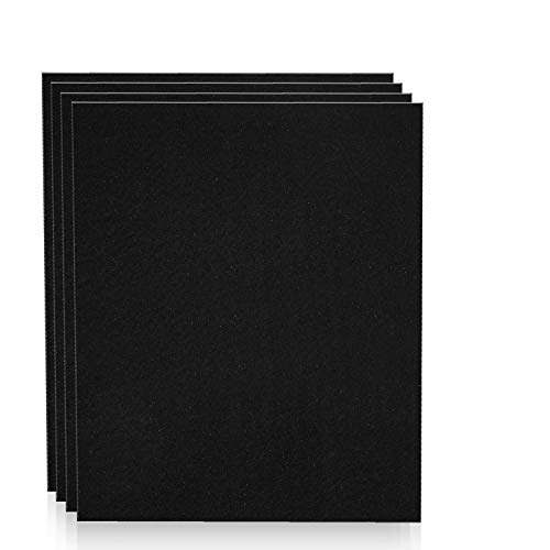 Altec Filters 4 Activated Carbon Pre-Filters for Honeywell HPA200 Air Purifier, Premium Quality Replacement Pre-Filters HW HRF-AP1 HPA204 HPA250B Filter A (4 Pack)
