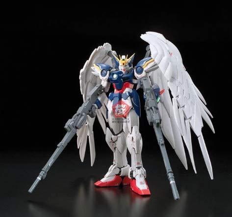 Linker Wish Bandai Gundam 94380 RG 1/144 Wing Zero EW Mobile Suit Assemble Model Kits Action Figures Plastic Model Toys (No Original Box)