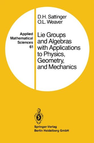 Lie Groups and Algebras with Applications to Physics, Geometry, and Mechanics (Applied Mathematical Sciences)