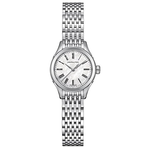 Hamilton Timeless Classic Valiant Mother of Pearl Dial Stainless Steel Ladies Watch