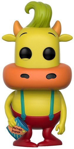 Funko Pop! Television: Rocko's Modern Life Heffer (Styles May Vary) Collectible Figure]()
