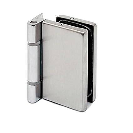 Extrem Glastür-Scharnier für Glas-Holzzarge-Montage für Glasstärke 8 - 10 OS56