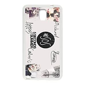 5 Seconds Of Summer Fashion Comstom Plastic case cover For Samsung Galaxy Note3
