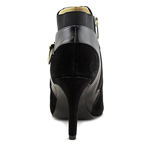 Marc Fisher Shimmee Kvinner Oss 8 M Svart Peep Toe Ankel Boot