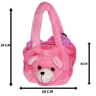 048a9750f92 Buy A.R. International Soft Toys Kids Purse (Light Pink) Online at ...