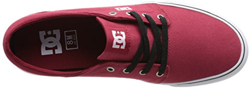 DC Shoes Trase TX, Baskets Mode Homme Rouge