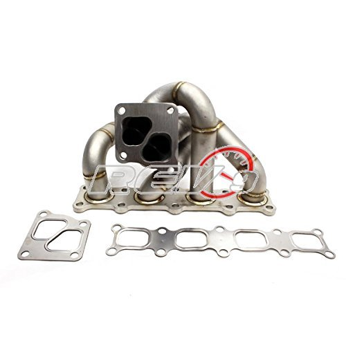 Rev9 Power HP-Series Evo x / 10 4B11 Equal Length Turbo Manifold 11 Gauge / 3.1mm Wall Thickness Full Race Style ()