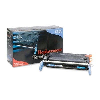 IBM Products - IBM - TG95P6486 Compatible Remanufactured Toner, 8000 Page-Yield, Cyan - Sold As 1 Each - Creates sharp lines, crisp edges, and smooth shades. - Adds a professional touch to any document. - Quick to install, easy to - Edge Ibm