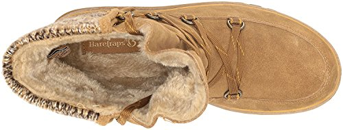 10 Traps Cold 0 Closed Whiskey Leather Ankle Sharleen Womens Toe Size Bare 0dvxwTqw
