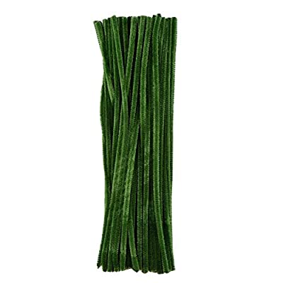 eBoot 100 Pieces Pipe Cleaners Chenille Stem for Arts and Crafts, 6 x 300 mm