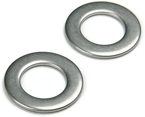 Qty-100 TK .104 OD .875 ID .375 5//16-813 MS Flat Washers 18-8 Stainless Steel