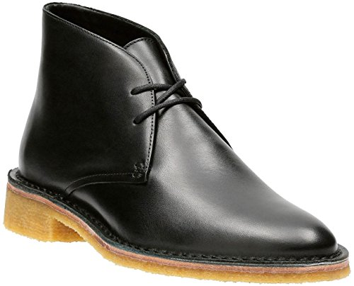 CLARKS - Womens Friya Desert Low Boot, Size: 9.5 B(M) US, Color: Black Leather