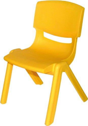 Bieco 04000001 - Kinderstuhl aus Kunststoff, gelb