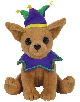 02243ed31ff Image Unavailable. Image not available for. Color  TY Beanie Baby -  PUNCHLINE the Chihuahua ...