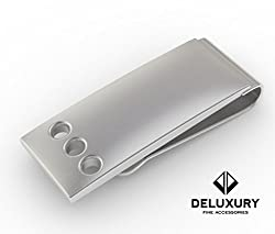 Money Clip - Premium Men's Accessory: Silver Stainless Steel, Slim, Great Gift