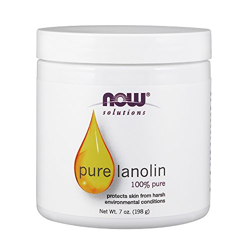 Lanolin Natural (NOW Solutions Lanolin Pure, 7-Ounce)