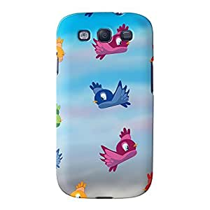 Flying Birds Full Wrap High Quality 3D Printed Case for Samsung? Galaxy S3 by Nick Greenaway + FREE Crystal Clear Screen Protector