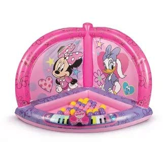 Inflatable Minnie Mouse Musical Playland with Electronic Musical Mat
