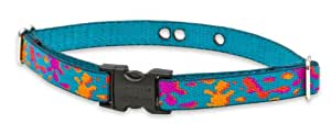 """LupinePet Originals 3/4"""" Wet Paint 19-31"""" Containment Collar Strap for Extra Large Dogs"""