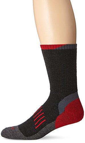 Dickies Mens All Season Steel Toe Merino Wool Blend Crew Socks