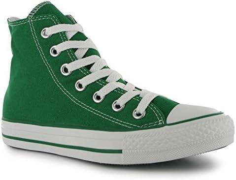 Stars Hi Top Mens Trainers Celtic Green
