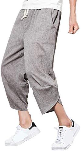ODJOY-Fan Pantaloni Cavallo Basso Shorts da Uomo Casual in Tinta Unita Pantaloncini a Cinque Punte con Stampa Uomo Tasconi Tuta Pantalone Slim Fit Nuovo Prodotto