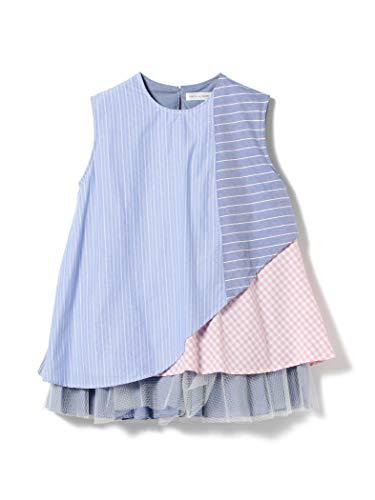 (빔스 보이)BEAMS BOY/반소매 셔츠 TORI-TO × BEAMS BOY/망사(Tulle) layer 노슬리브 셔츠 레이디스
