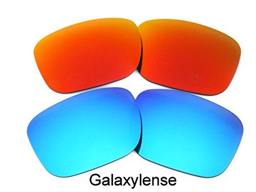 rechange Rouge Oakley de Lentilles hommes pour Galaxylense Bleu Holbrook pzAETwRnq