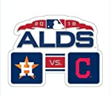 Baseball 2018 ALDS Team PIN Astros VS. Indians World Series Playoffs