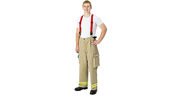 Waist Size 34 Waist Size TOPPS SAFETY PA28-3950-34-30 INDURA Extrication Suit Pants Finished Seams Inseam 30 Inseam 30 Tan 34