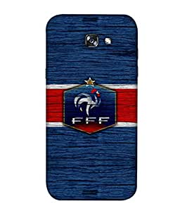 ColorKing Football France 16 Blue shell case cover for Samsung A3 2017