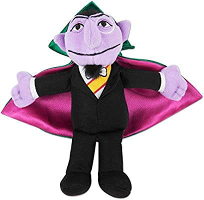 Sesame Street Count Von Count Bean Bag 7 Doll