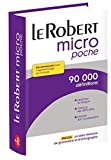 Dictionnaire Le Petit Robert Micro Poche (French Edition)